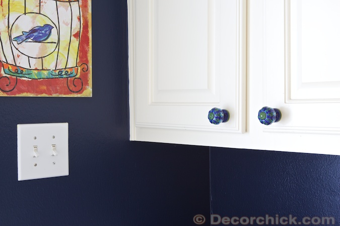 Sherwin Williams Naval Paint Color | www.decorchick.com