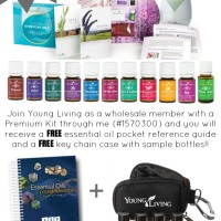 Special Weekend FLASH Sale! Order the Young Living Premium Kit and Receive for FREE a Reference Guide and Keychain Travel Pouch with 8 oil bottles! | www.decorchick.com