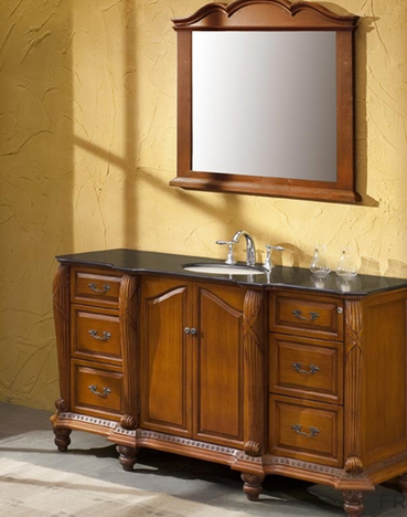 Antique Bathroom Vanity | www.decorchick.com