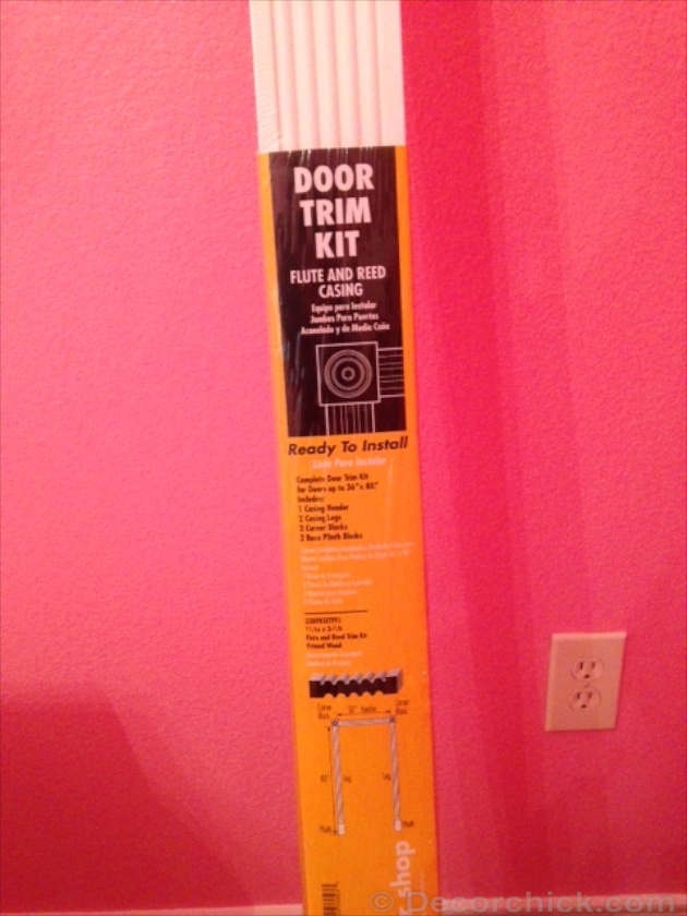 Door Trim Kit | www.decorchick.com