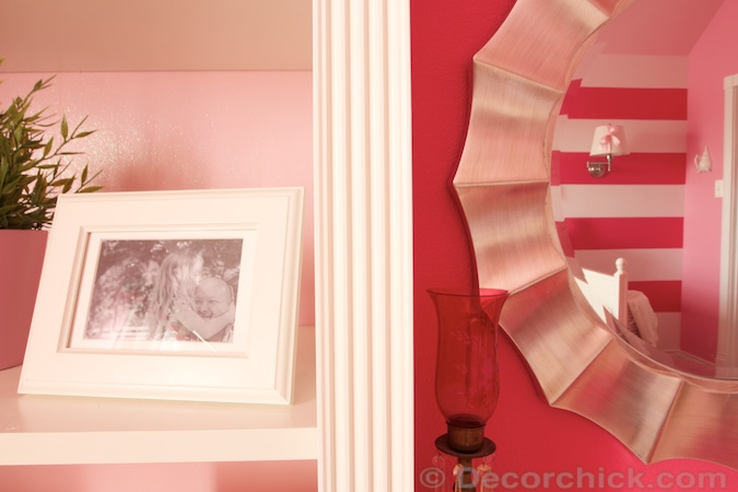 Fluted Trim on Bookcase | www.decorchick.com
