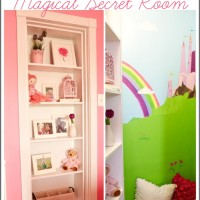 Hidden Door Bookcase Opens Up to Magical Secret Room | www.decorchick.com