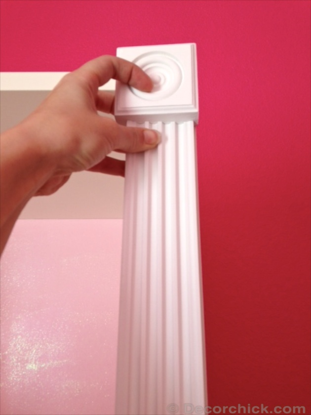 Ikea Hack with Trim | www.decorchick.com
