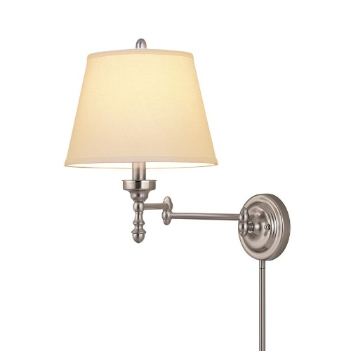 Plug In Wall Lamps Lowes : How To Get The Look of a Hardwired Wall Sconce, The Easy Way - Decorchick!