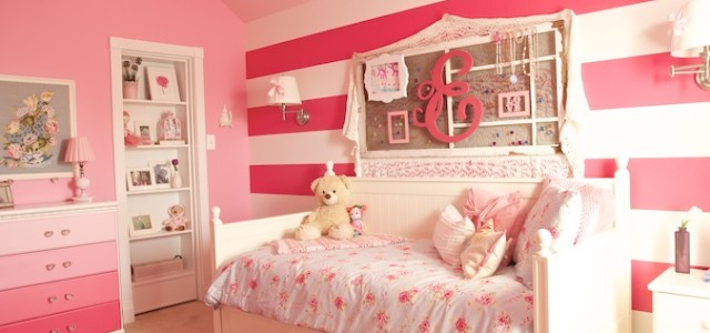 A Dreamy Girl Room Makeover With Hidden Door Bookcase