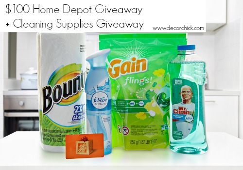 The Home Depot Giveaway | www.decorchick.com