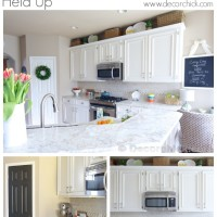 White Kitchen Update 1 Year Later | www.decorchick.com
