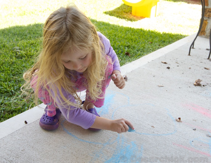 Chalk-Drawing