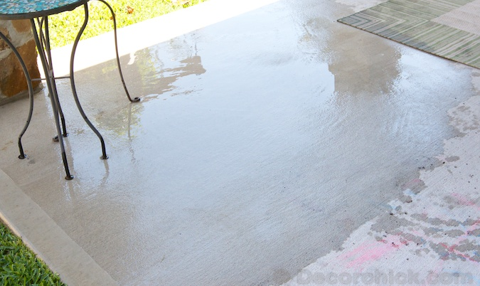 Just patio and concrete cleaner fargil uk driveway patio for Deck and concrete cleaner