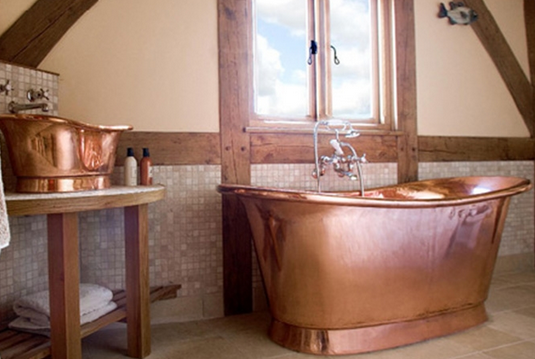 Copper Bathtub | www.decorchick.com