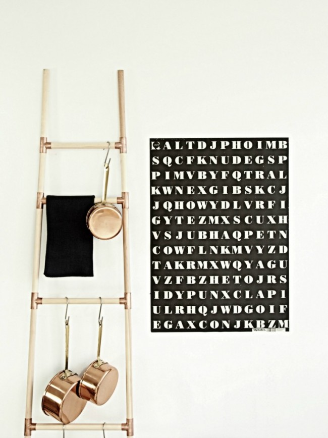 Copper Ladder | www.decorchick.com