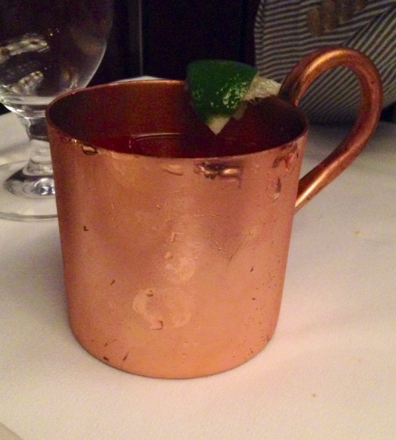 Pretty Copper Mug | www.decorchick.com