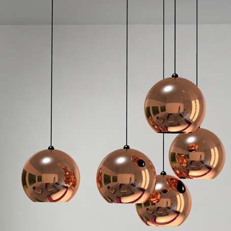 Copper Pendant Lights | www.decorchick.com
