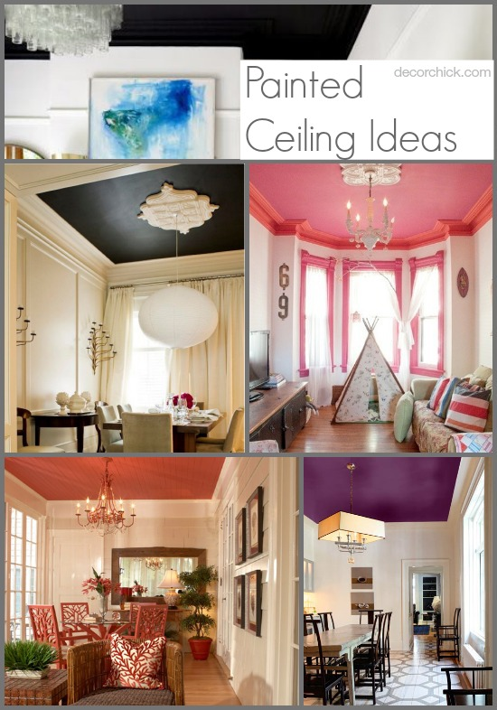 Painted Ceiling Ideas | www.decorchick.com