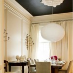 Black Painted Ceiling | www.decorchick.com