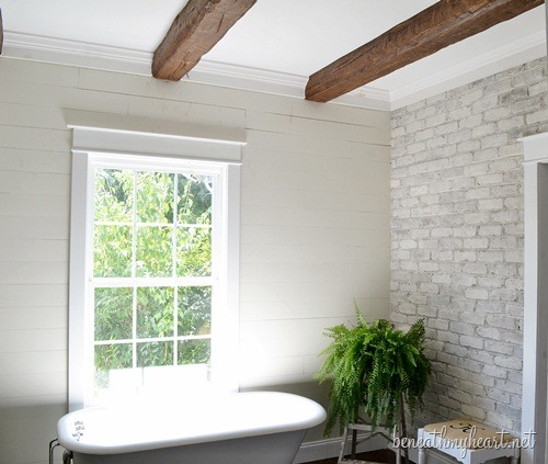 How To Easily Install Beautiful Wood Beams Decorchick