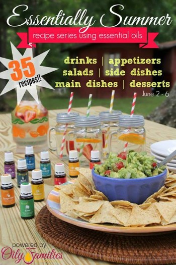 Essentially Summer Recipes Featuring 35 Amazing Recipes Using Essential Oils | www.decorchick.com