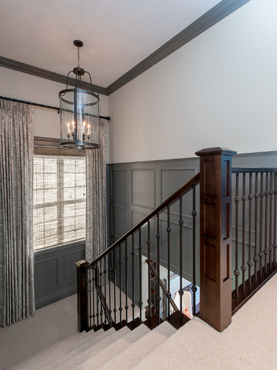 Beautiful Dark Grey Wainscoting | www.decorchick.com
