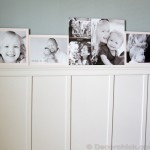 Gallery Wall on Board and Batten Ledge | www.decorchick.com