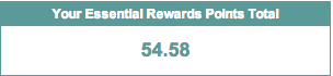 Essential Rewards Balance