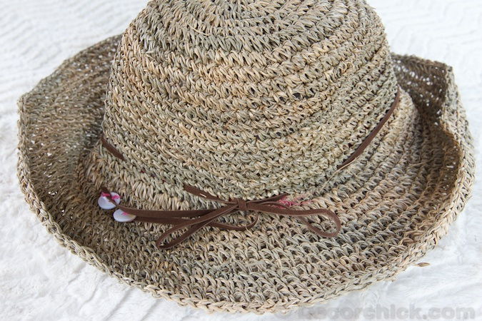 Sea Grass Hat | www.decorchick.com