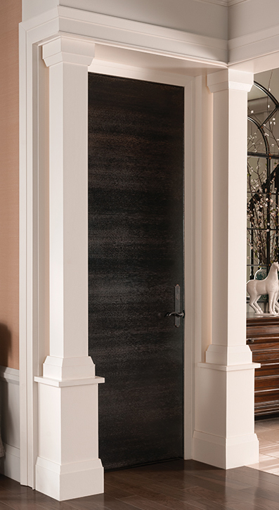 Beautiful Door Columns | www.decorchick.com