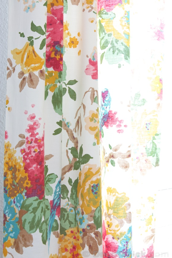 World Market Parrot Curtains | www.decorchick.com