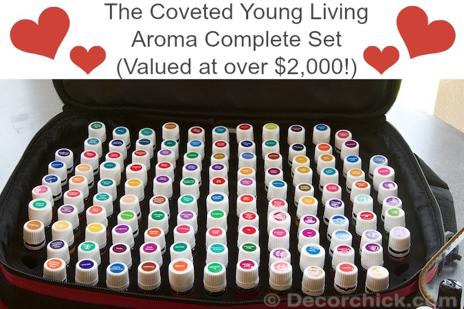 Young Living Aroma Complete Set | www.decorchick.com