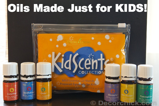 Essential Oils Made Just for KIDS! | www.decorchick.com