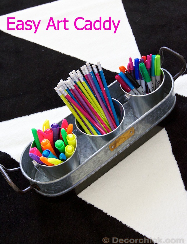 Easy Art Caddy | Decorchick!®