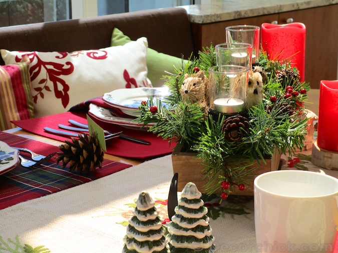 Christmas Table Decor | Decorchick!®