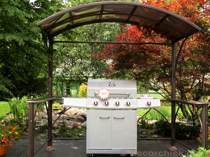 Gazebo Cover for Grill | Decorchick!®
