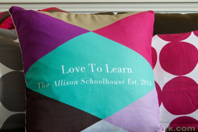 Love to Learn Pillow | Decorchick!®