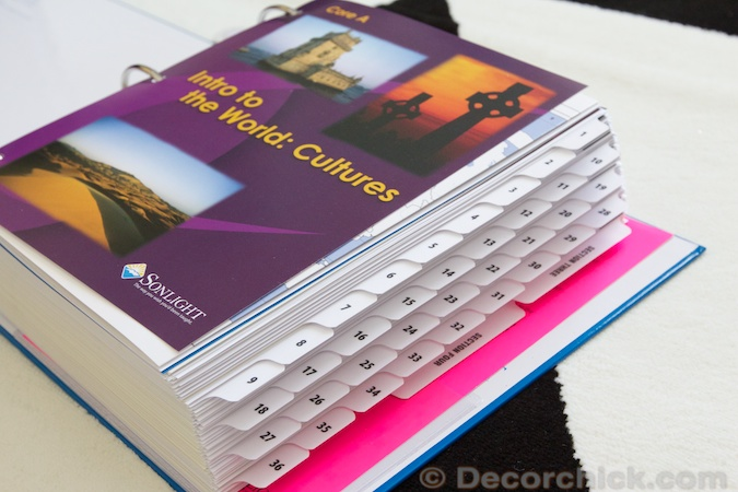 Sonlight Yearly Binder | Decorchick!®