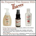 Be Prepared with Young Living Thieves Products For Germ Season! | www.decorchick.com