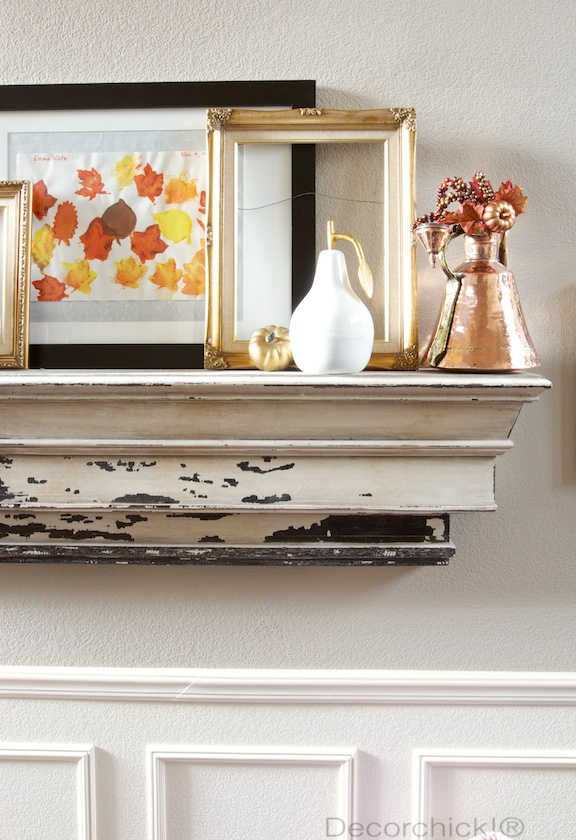 Autumn Mantel Decor | Decorchick!®
