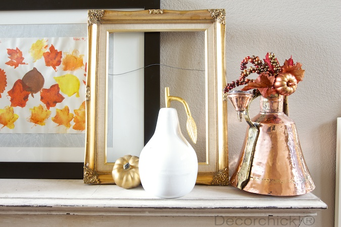 Copper and Gold Mantel | Decorchick!®