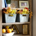 Welcoming Fall With An Updated Entry and New Bookcase!