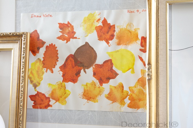 Fall Art Display | Decorchick!®