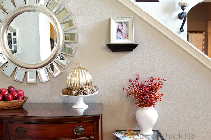 Fall Entryway | Decorchick!®