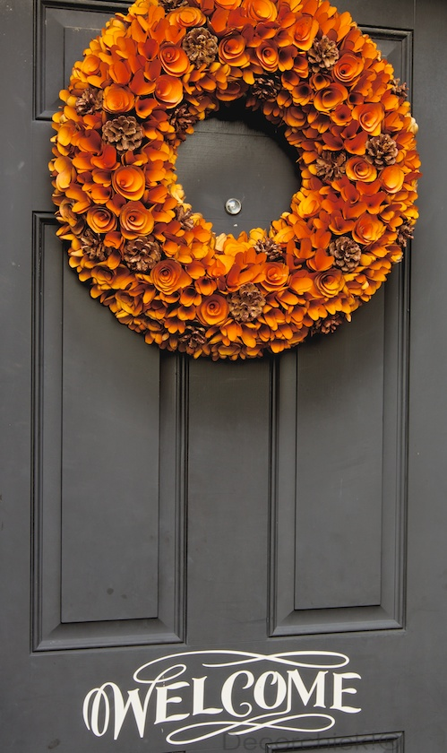 Fall Wreath Front Door | Decorchick!®