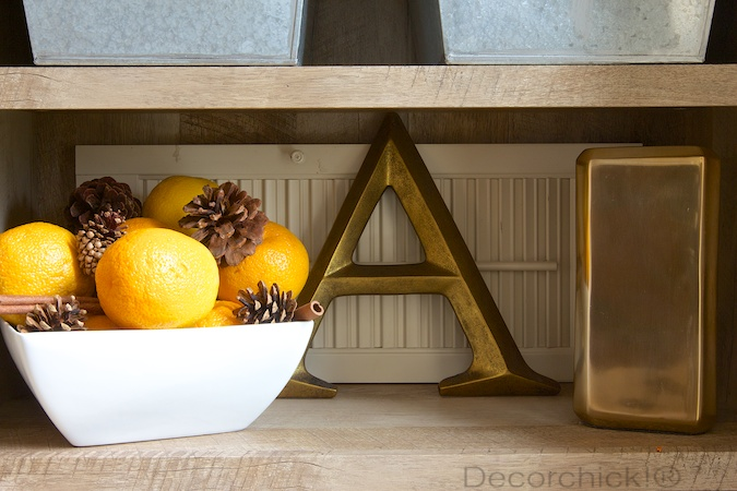 Oranges and Pinecones | Decorchick!