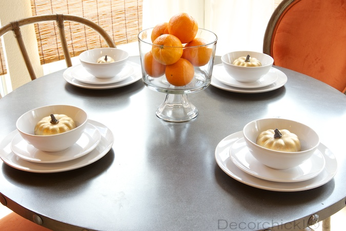 Simple Place Setting | Decorchick!®