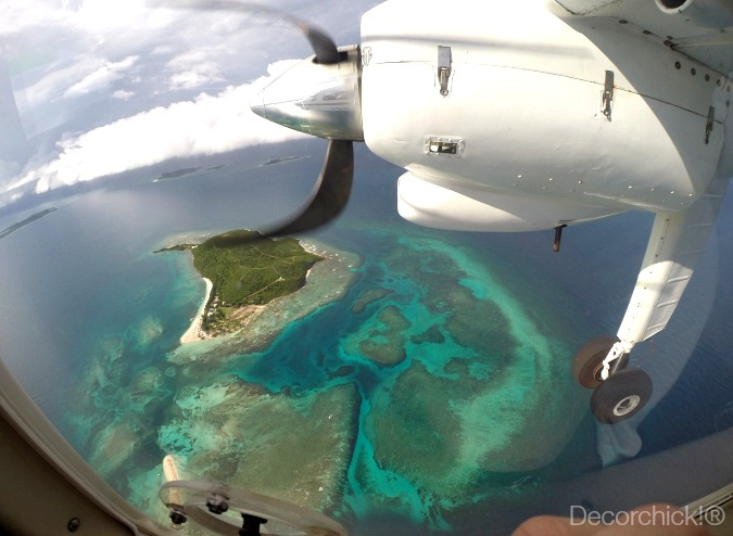 Flying Over Caribbean | Decorchick!®