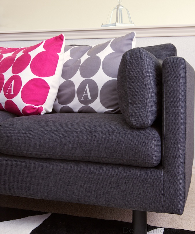 Grey Nova Sofa | Decorchick!®