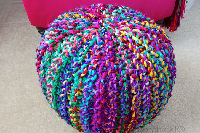 World Market Pouf | Decorchick!®