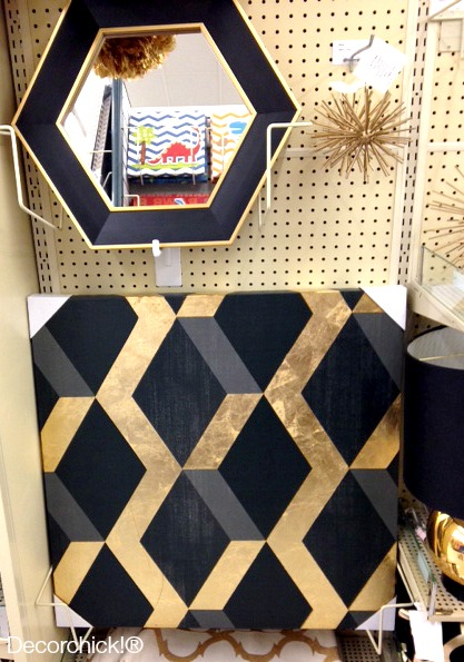 Black and Gold Mirror | Decorchick!®