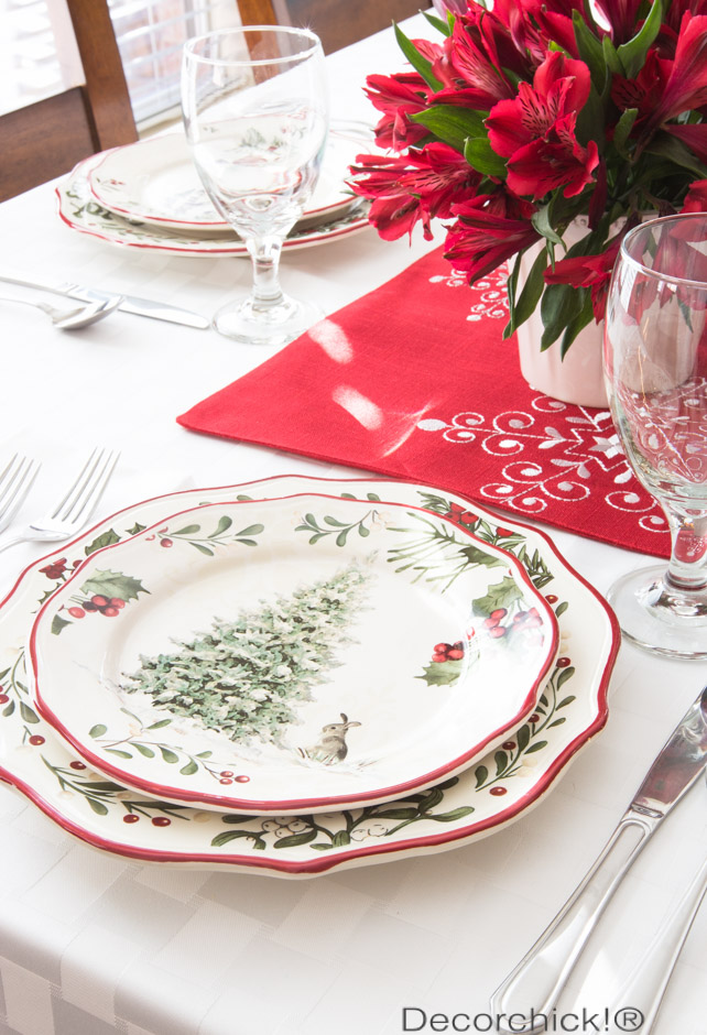 Christmas Plates | Decorchick!®