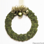 Easy Moss Wreath Tutorial (Holiday Edition!)