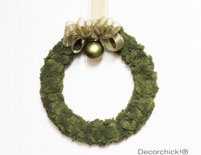 Easy Moss Wreath | Decorchick!®